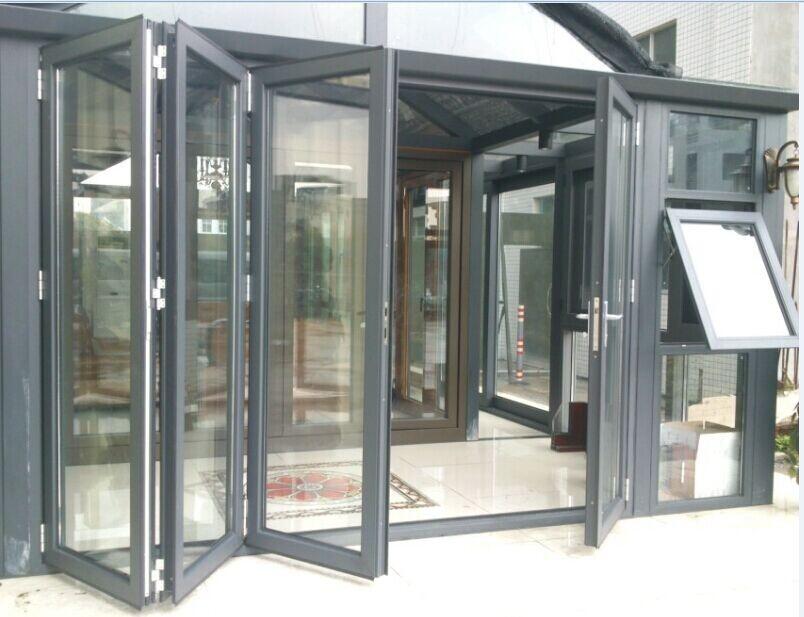 Aluminium Door Designs : Customized design aluminium folding door buy