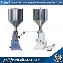 Manual liquid filling machine, peanut butter filling machine, vial filling machine for small scale business