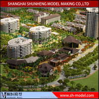 residential building model maker ,miniature house architectural model making