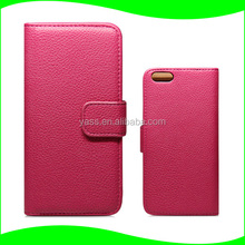 Best Selling for iPhone 6 Leather case, Flip Leather Case for iPhone , Pu Leather Cellphone Back Case for iPhone 6