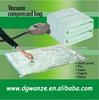 clothes quilt storage bags/cube vacuum compressed bag vacuum seal