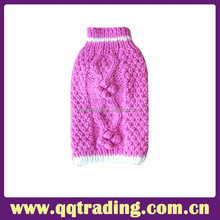 Fashion Custom Pet Clothes Knitted Dog Sweater
