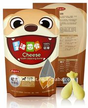 Cheese Teeth-Cleaning Bone Dog Dental Chews