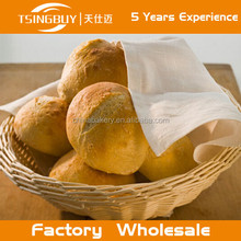 Hot factory 100% pure handcraft natural rattan wicker bread basket/handmade willow storge baskets/stackable wire basket