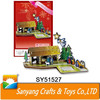 The Nativity Story fairy tale style 3d cartoon puzzle toys