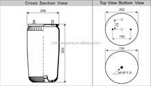 Contitech truck air suspension 4962NP02