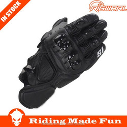 RIGWARL Protective Motorcycle & Auto Racing Sportswear Black Racing Driving Gloves With OEM service