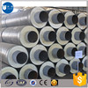 government underground pipeline construction polyurethane foam insulation pipe with iron outer sleeve
