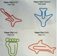 Fashion High Quality Metal unique Paper Clips