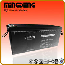 for power storage 200amps 12v deep cycle flooded tubular lead acid battery