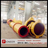 Shanghai Pioneer small rotary dryer/drying machine hot sale