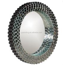 Large fashion round bathroom decorative mirror