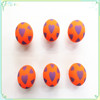 2015 hot sale new product colorful hollow rubber ball