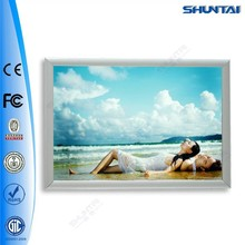 Fast Delivery Lighted Snap Backlit Aluminum Photo boxes