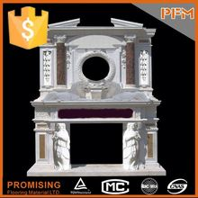 The most beautiful& best quality china marble fireplace suitable for parlor design
