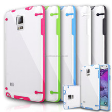 2015 NEW Fashion Luminous Style TPU Rubber Gel Ultra Thin Clear Protective Case Cover For Note 4 3 S5. 4