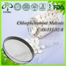 Chlorphenamine Maleate / Chlorphenamine hidrógeno Maleate / 113-92-8