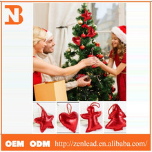 hot sale hanging plastic star wholesale christmas decorations made in china