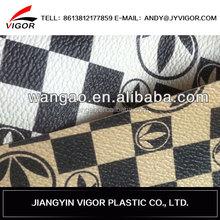 2015 fashionable man handbag leather,handbag leather,faux leather for handbag