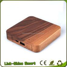 Best portable wood power bank 2600mah 4000mah 5200mah 7800mah 8000mah 10400mah power bank