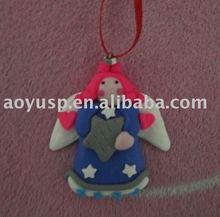 Polymer Clay Angel Decoration
