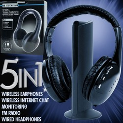 Wireless Headphone Player mp3 Cheap Wireless Headphone with fm radio