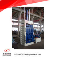 FYD-40M Vertical Plastic Baler Machine with Factory Price