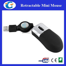 Mini Mouse Smallest Mouse With Retractable Cable GET-MM07