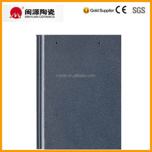 Building material ceramic tile Glazed clay flat roofing tile best selling products roof tile