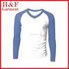 Raglan man's long sleeve t-shirt custom design shirt