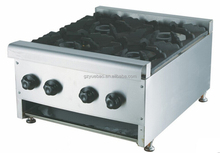 commercial 4 burner table top gas stove