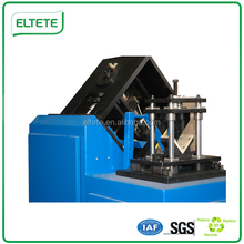 2015 new condition recyclable paper edge board product type corner protector machine