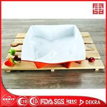 Mariposa de cerámica placa de cocción
