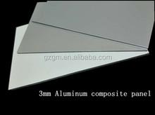 Guangzhou manufacture wall cladding 3mm aluminum composite panel