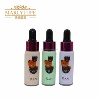 China manufacturer name brands 3 colors bb cream foundation