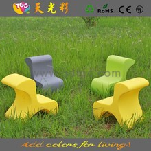Latest product new style PE material outdoor furniture chair salon child