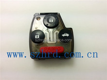 auto remote with circuit board for hond japanese car 3+1 button