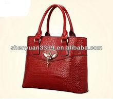 Dongguan Factory Bags For Woman Real Italian Leather Handbag 2015 New