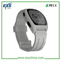 fashion led silicone digital watch, bluetooth watch phone with call/message reminder