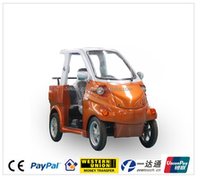 4 wheel 3 seater playground recreational vehicles cheap electric car on sale