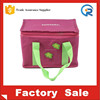 Hot sale promotion recycled cooler bag & bottle with zipper