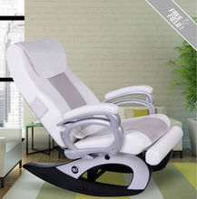 Strengthen the metabolism of human body F-668 Hot Massage Rocking Chair(white) Shake Shake Healthcare Massage Chair