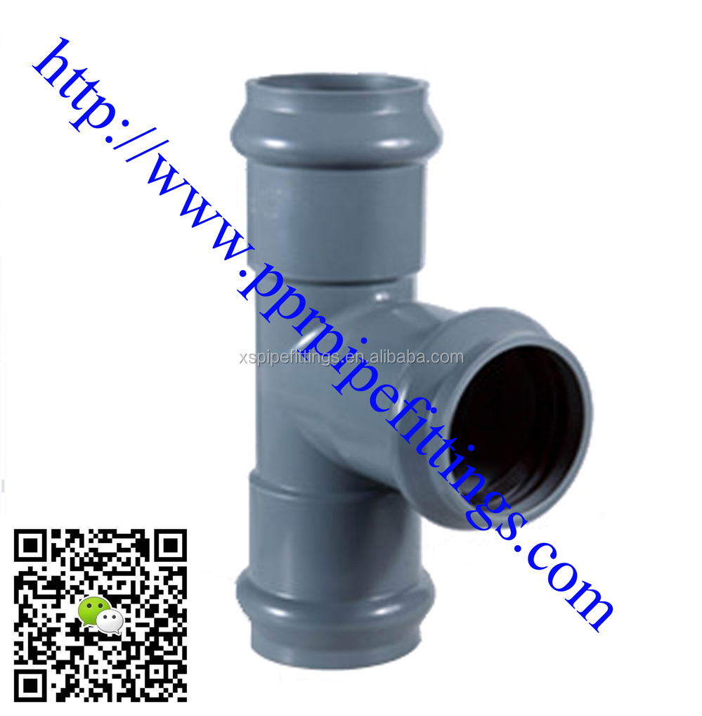 Pvc pressure pipe fittings for water supply