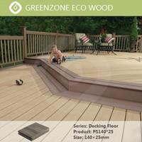 New type outdoor waterproof wear-resistant patio floor covering wpc plank