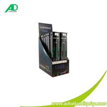 Indicação do contador de papelão display case para o e líquido e-líquido display case