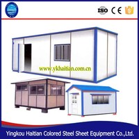 Shipping prefab modular container house easy to designs and install,folding container house