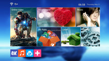 MXQ S805 Quad Core haho android TV Box 1G+8G google android 5.0 tv box