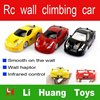 hot product mini rc car remote control wall climbing car wall climber mini car for sale