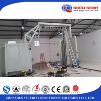High penetration gantry container scanner for seaport, cargo container inspection