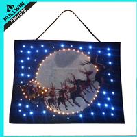 fancy light Decoration Christmas Lights light up Christmas tapestry